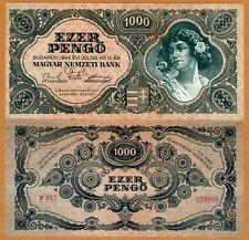 Hungary, 1000 Pengo, 1945, P-118a, UNC
