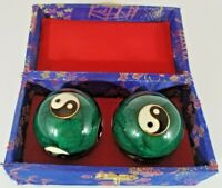 Pair of Dacige Chinese Musical Iron Balls in Original Box
