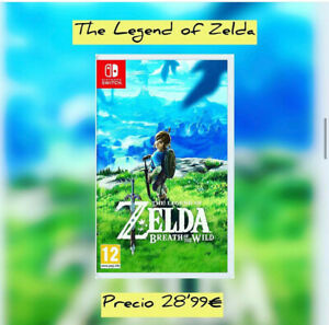 The Zelda Breath Of the Wild  Nintendo Switch. ¡LEER DESCRIPCIÓN!