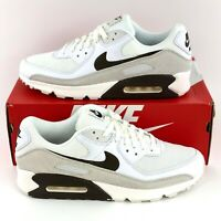 Nike Air Max 90 Sail Baroque Brown Men's Sneakers Shoes White Gray CW7483 100