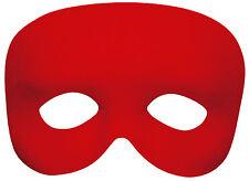 Fantasma Máscara de Pestañas Rojo Nuevo - Carnaval Máscara Cara
