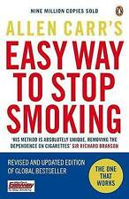 Allen Carr's 'Easy Way to Stop Smoking' - Unread Paperback As New. Quit now!