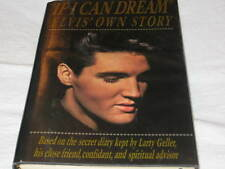 IF I CAN DREAM ELVIS' OWN STORY BY LARRY GELLER HARD COVER BOOK DUST JACKET OOP
