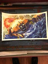 The Iron Giant Alex Ross Mondo Limited Poster Print Rare