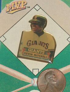 1990 Kevin Mitchell NL MVP SF San Francisco Giants MLB Baseball Pin