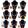 Bohemian Charm Women Chunky Statement Bib Chain Choker Pendant Necklace Jewelry