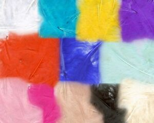"""3"""" - 5"""" Marabout feathers 50g bag. Card Making Crafts Embellishments Trimming"""