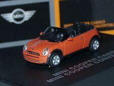 Herpa New Mini Cooper Cabrio, HOT-ORANGE - dealer model 094 - 1:87