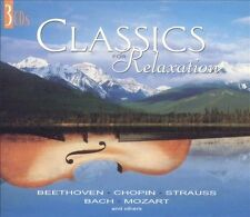 CLASSICS FOR RELAXATION Various Artists (CD, 2002, 3 Discs, Madacy)