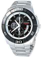 Citizen AN3411-51E Alarm WR100m Mens Chronograph Watch NEW RRP $499.00