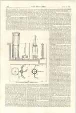 Horno de contracción 1898 en Woolwich Arsenal de Municiones de medición tonelaje