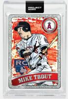 Topps PROJECT 2020 Card 100 - 2011 Mike Trout by Blake Jamieson   Presell