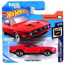 HOT WHEELS 2019 James Bond 007 71 Mustang Mach1 HW Screen Time