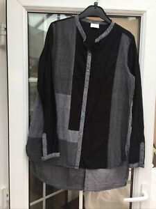 East Linen Top Size 14. In Excellent Condition