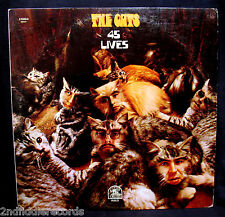 THE CATS-45 LIVES-Rarer 1970 Melodic Psych Rock Promo Album-RARE EARTH #RS 521