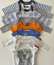 8x Bundle Shirts & Bodysuits Size 00 / 3-6 Mths (Bonds H&M Gap Next Disney Joul