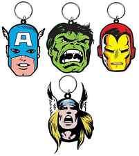 Official Marvel Keychains Film TV Novelty Comic Book Gift Keyring Superhero