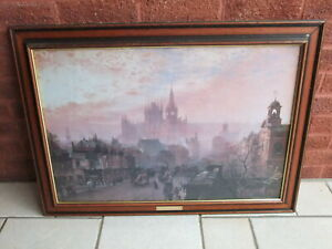 John O'Connor St Pancras Hotel & Station - Framed Print 1884
