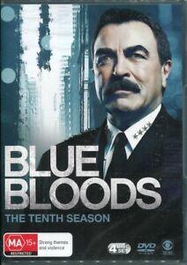 Blue Bloods Season 10 Tenth DVD NEW Region 4 Tom Selleck