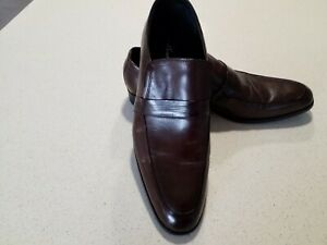 KENNETH COLE  MENS LEATHER BROWN SHOES