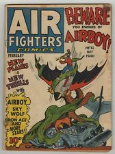 Air Fighters (1941) Vol 1 #5 Japanese Octopus WWII Airboy Cover Nazi War Good