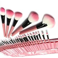32x Makeup Brushes Set Foundation Blusher Eyeshadow Cosmetic Eye Lip With PU Bag