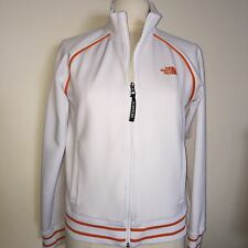 Girls XL • The North Face A5 Series•Full Zip front Track Jacket•white/orange