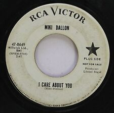Hear! Northern Soul Promo 45 Miki Dallon - I Care About You / I'Ll Give You Love
