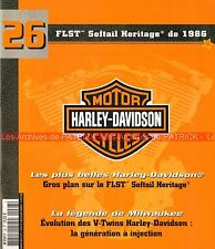 HARLEY DAVIDSON FLST 1340 Softail Heritage 1986 ; HD V-Twin Injection MOTO