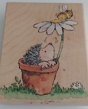 'JUST BUZZIN' BY!'  Margaret Sherry/Penny Black 1729K Rubber Mounted Stamp