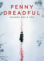 Penny Dreadful - Stagioni 1 - 2 DVD Serie Completa uno Due Nuovo / Sealed 1st &