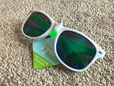 Mens Sunglasses Swak White/Green FWG Womens Sunglass Unisex Goggle 100% UVA-UVB