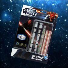 Star Wars Mini Lightsaber Lichtschwert  Darth Maul Bausatz Science NEU OVP