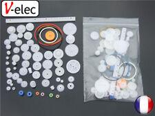 1319# 60 Kinds Of Plastic Gear Package Motor Gearbox Robot Model Accessories DIY