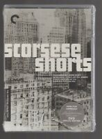 Scorsese Shorts (DVD, 2020, Criterion Collection) FACTORY SEALED