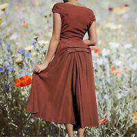Vintage 1930s Mauve Toned Evening Gown