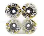 Sector 9 Goddess of Speed 76mm 78a Longboard Wheels Ghost/Yellow