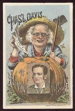 Vaudeville ALVIN JOSLIN Bühne Show Old Trade Card * 180 lacht * Kostenloser Versand tc143