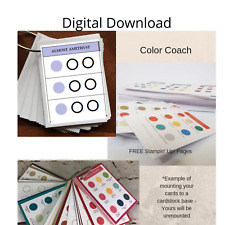 Download Stampin Up Paper Cardstock Reference Tool All Color Chart Color Coach