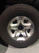 LandCruiser TOYOTA alloy wheel VDJ76/78/79/V8 series +DUNLOP 265/70/16 tyre USED