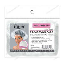 "Annie Extra Jumbo Size Processing Caps Disposable Shower Clear 30pcs 26""D #3556"