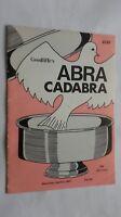 Abracadabra GOODLIFFE'S 2149 Saturday Abril 4 1987 VOL.083 Buen Estado
