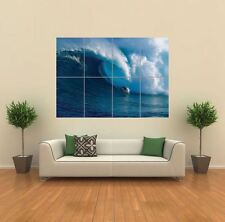 SURF SURF WAVE Oceano NUOVO GIGANTE POSTER WALL ART PRINT PICTURE G800