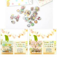 80pcs/set Stickers Cute Anlimals DIY Stickers Japanese A1Q7 Kawaii-Stickers H6E2