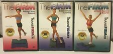 3 Transfirmer The Firm workout exercise fitness DVD lot, calorie blaster sculpt