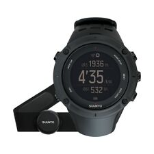 Suunto Ambit 3 Peak HR Outdoor Multi-Sports Black Watch with Heart Rate Monitor