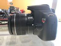 Canon Rebel T5 SLR Camera w/ EF-S 18-55mm IS II Lens (2 LENSES)