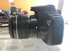 Canon Rebel T5 SLR Camera w/ EF-S 18-55mm IS II Lens (2 LENSES)