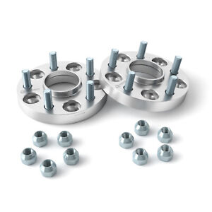 20mm 5x114.3 Hubcentric Wheel Spacers - fits Hyundai 67.1mm Hub | 12x1.5 Studs