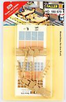 FALLER 579 Spur H0 Tische und Stühle, 28 Teile, Bausatz, OVP, top!